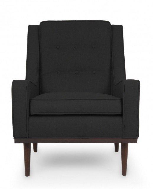 Кресло Элай черного цвета