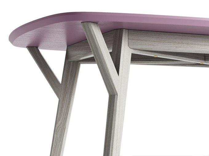 Обеденный стол Proso белёный дуб / лаванда