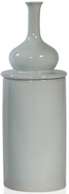 Ваза настольная Ceramic milk white