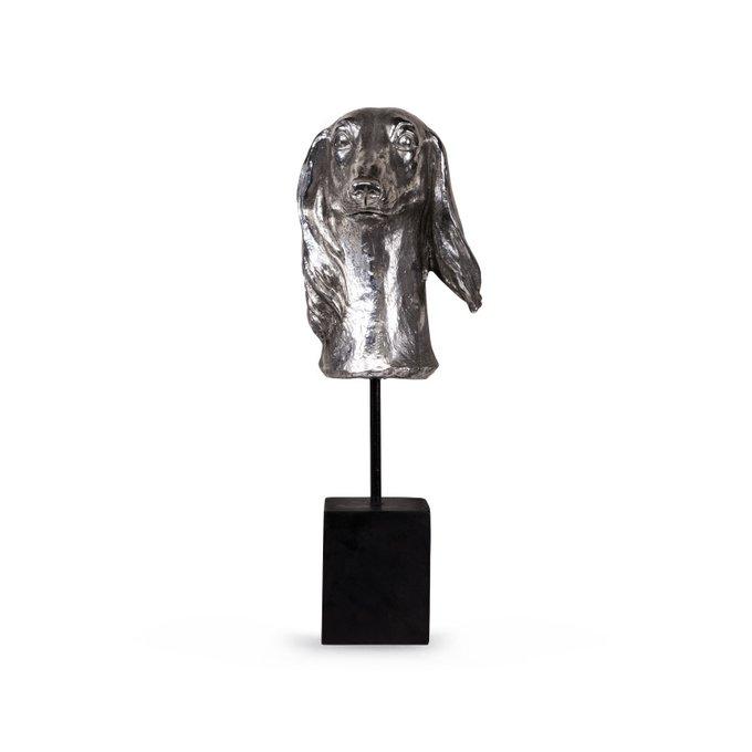 Статуэтка Silver dog цвета серебра