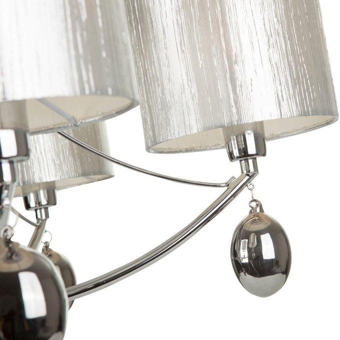 Подвесная люстра Silinda с серебряными абажурами