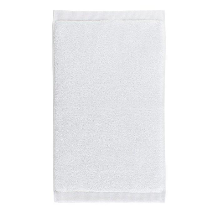 Полотенце для лица из хлопка белого цвета