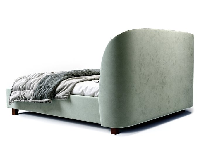 Кровать Tulip серо-бирюзового цвета 200х200