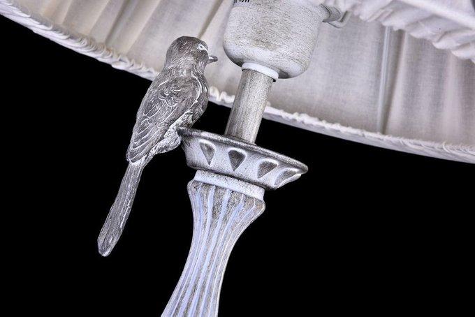 Торшер Bird с льняным абажуром