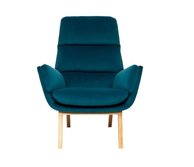 Кресло Orhus синего цвета