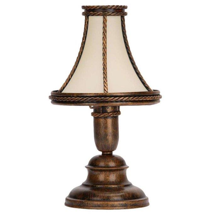Настольная лампа Kwinero Braz бронзового цвета