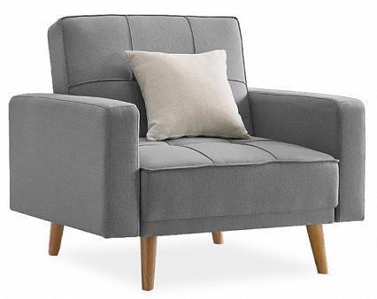 Кресло Лейден серого цвета