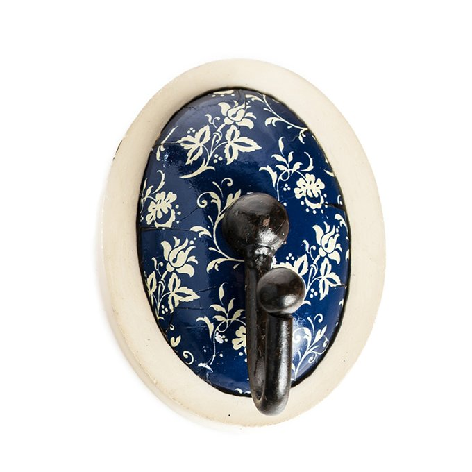 Настенный крючок Wood Hooks Синий