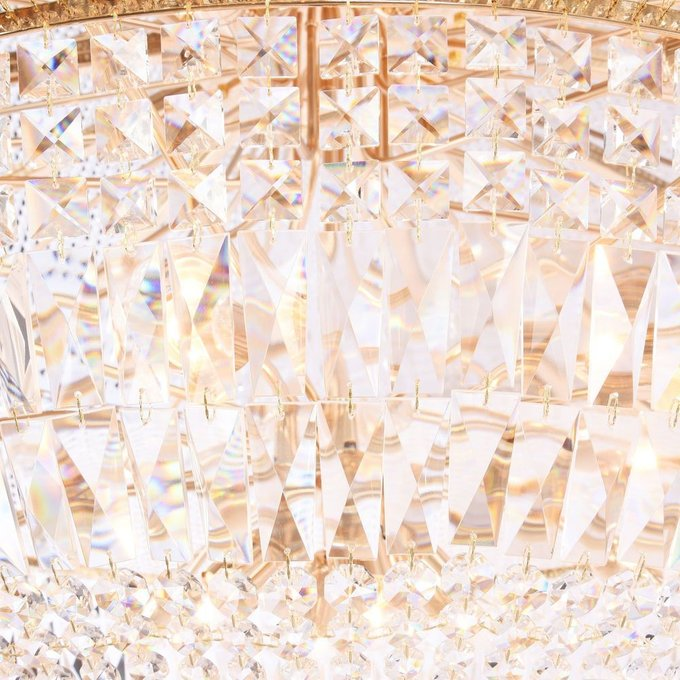 Потолочная люстра Palace с подвесками из хрусталя
