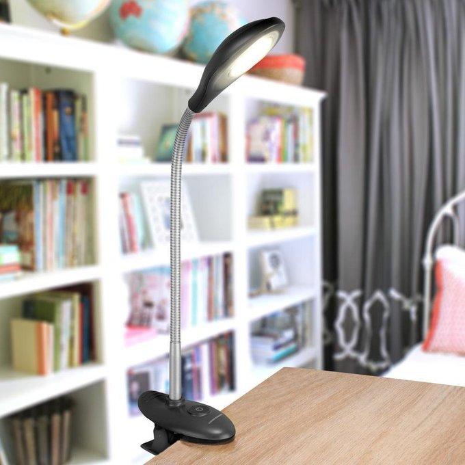 Настольная лампа Elektrostandard Captor черная