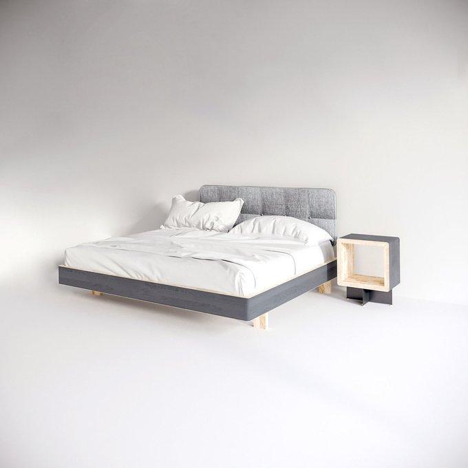 Кровать EcoComb с мягким изголовьем 180х200