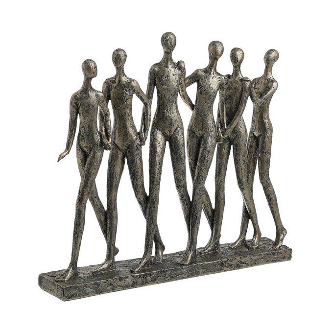 Декор настольный Ballet черно-золотого цвета