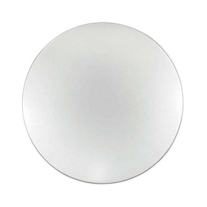 Настенно-потолочный светодиодный светильник Abasi белого цвета