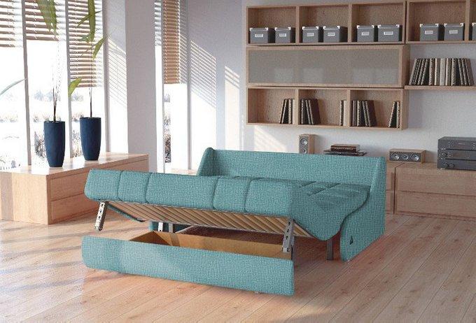 Диван-кровать Шарлот M темно-бирюзового цвета