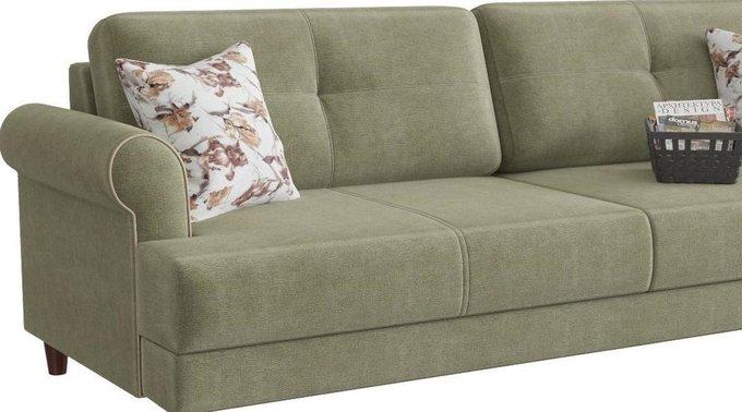 Диван-кровать Мирта Милфорд серо-зеленого цвета
