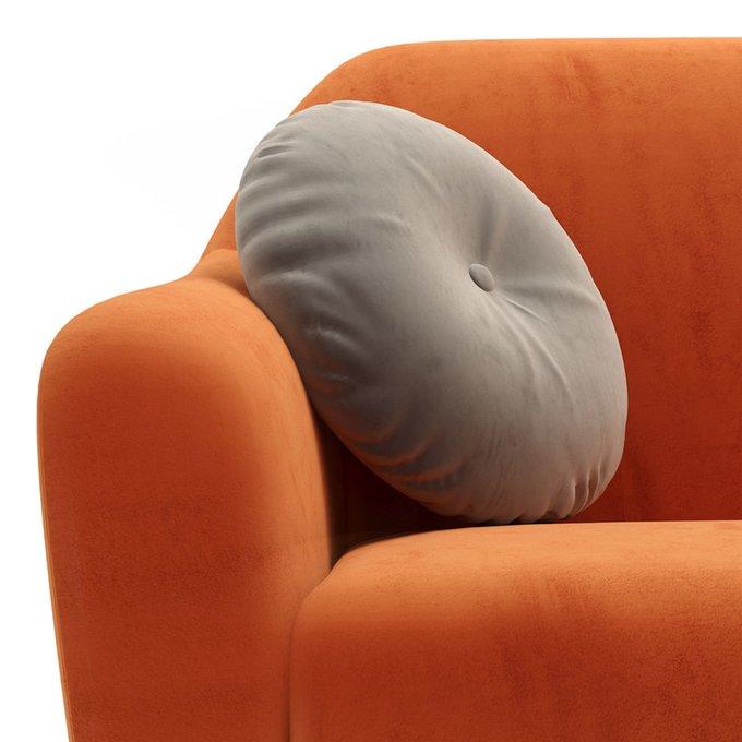 Трехместный диван Miami lux оранжевого цвета