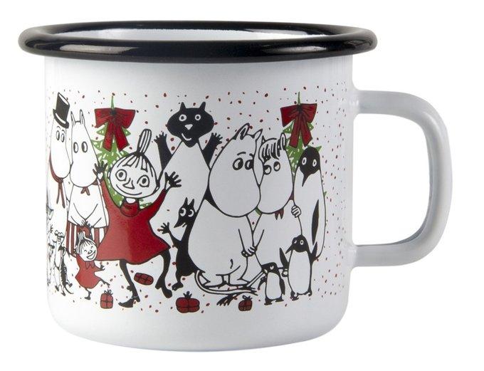 Кружка эмалированная Moomin Магия зимы