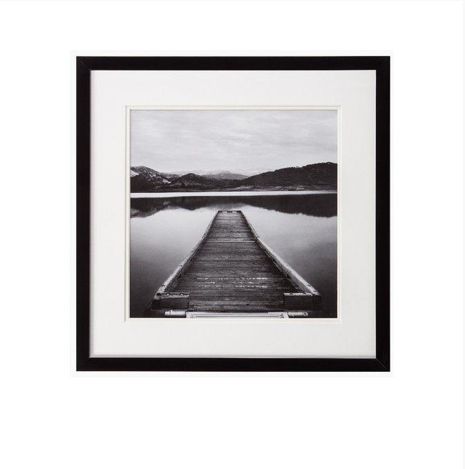 "Постер с паспарту в раме ""Pier Path"""
