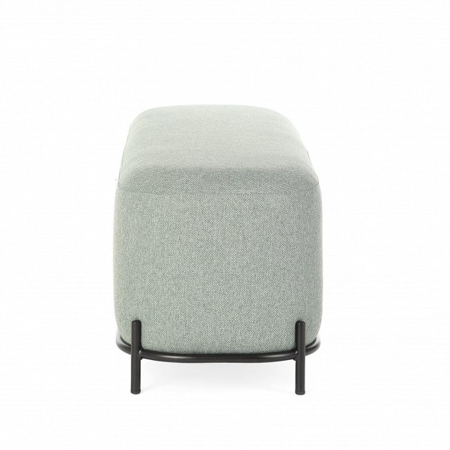 Банкетка Pawai серо-бирюзового цвета
