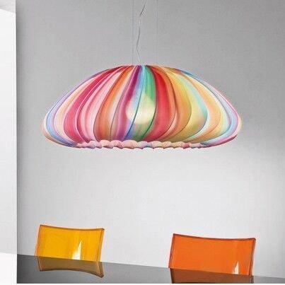 Подвесной светильник Sun с текстильным абажуром