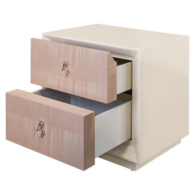 Прикроватная тумбочка Roma с двумя ящиками