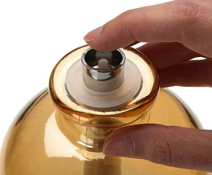 Светильник Gold Led в форме бутылки