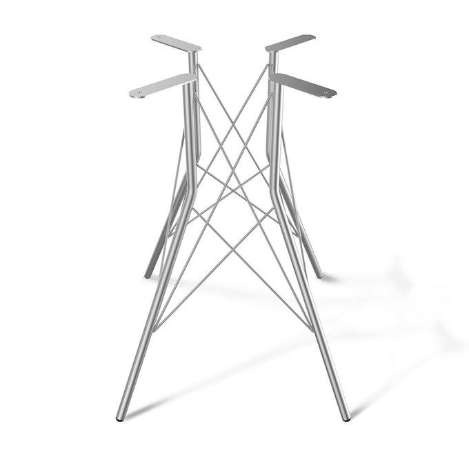 Стол Francis со столешницей цвета белый бетон