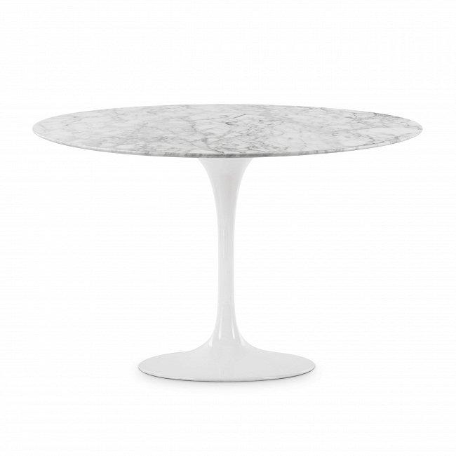 Стол обеденный Tulip Stone с мраморной столешницей