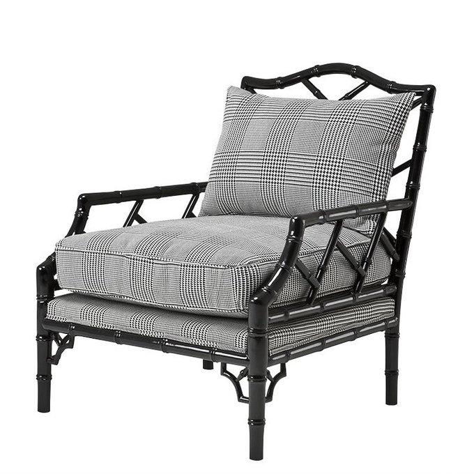 """Кресло Eichholtz """"Мorgan"""" с деревянным каркасом"""