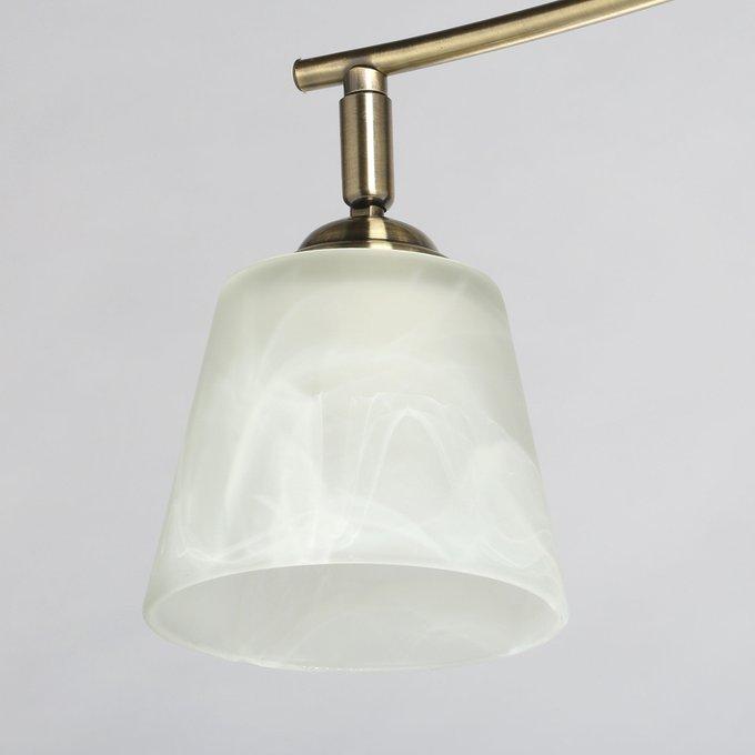 Потолочная люстра Тетро с основанием бронзового цвета