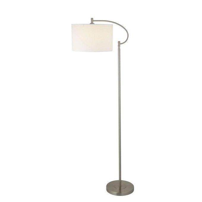 Торшер Arte Lamp Adige с белым абажуром