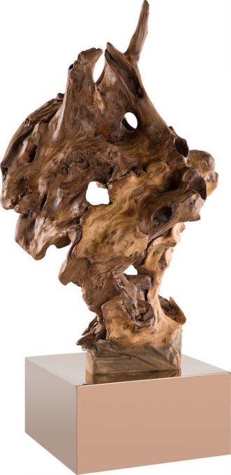 """Декор настольный """"Burlwood"""" из натурального дерева"""