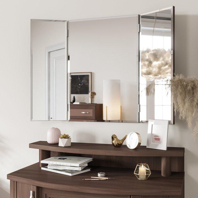 Зеркало-трельяж Магна цвета Орех клифтон