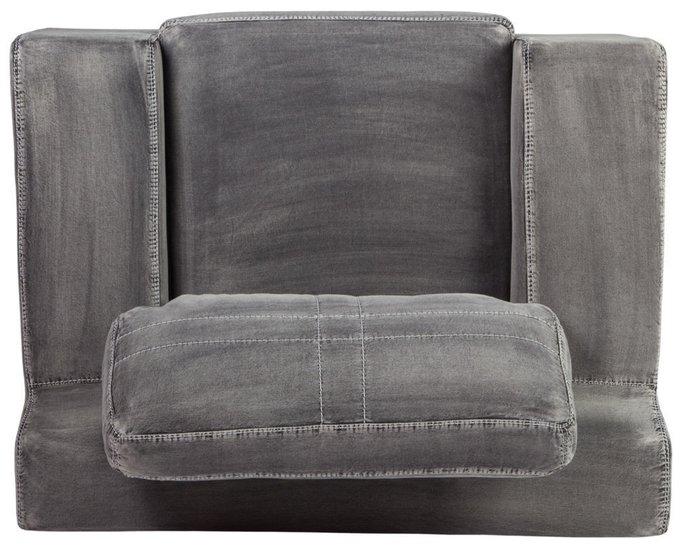 Кресло Ralph с джинсовой обивкой