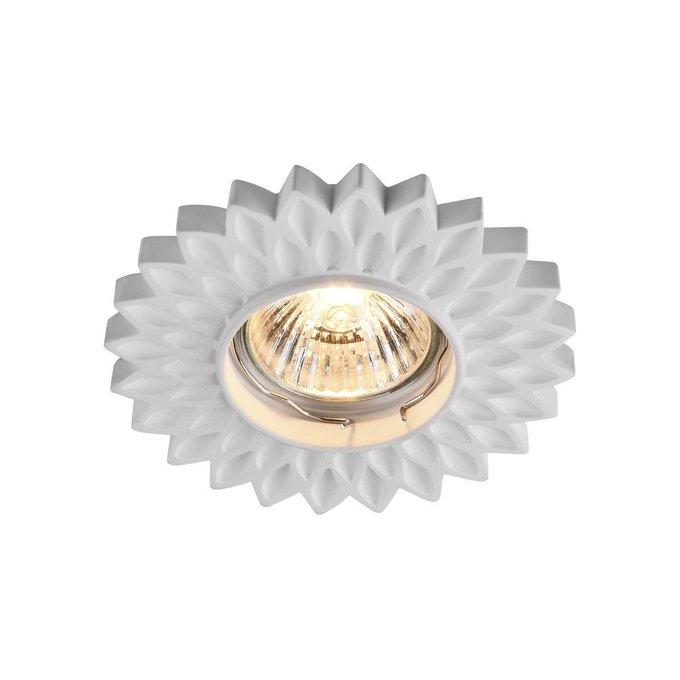 Встраиваемый светильник Gyps Classic белого цвета