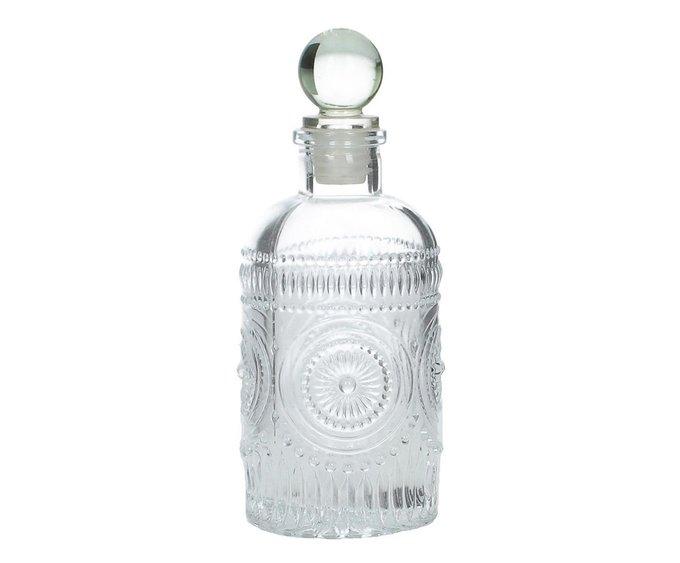 Набор из шести бутылей из прозрачного стекла