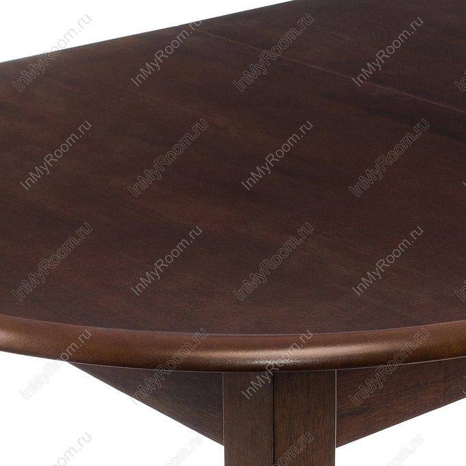 Стол раскладной Lugano cappuccino из массива гевеи