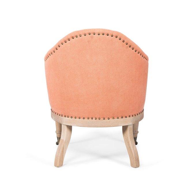 Кресло Austine персиково-розового цвета