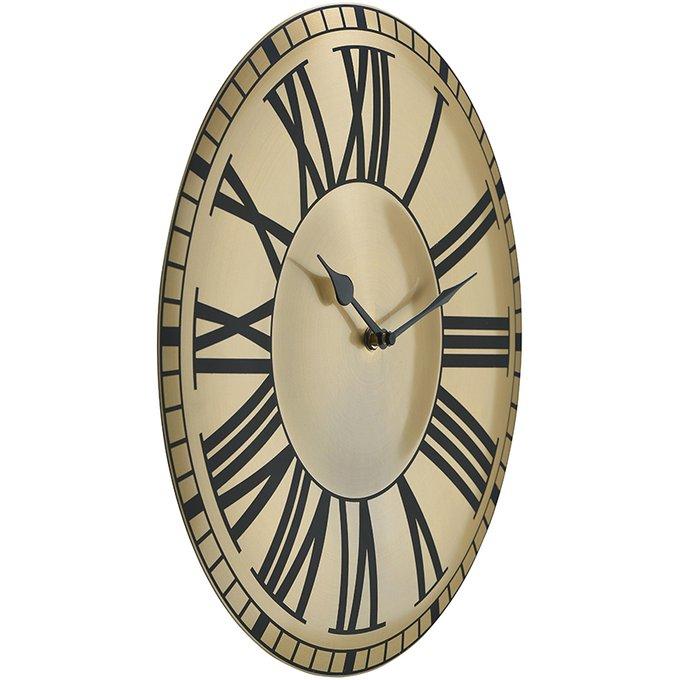 Настенные часы Bordeaux золотого цвета
