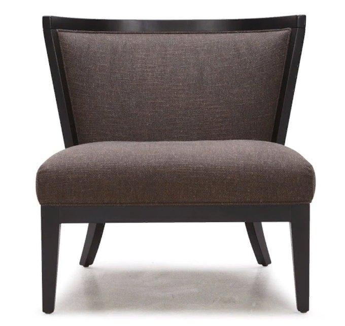 Кресло Comodidad коричневого цвета
