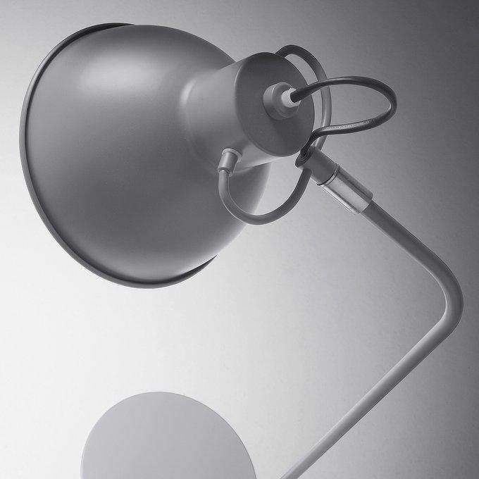 Настольная лампа Odalis серого цвета