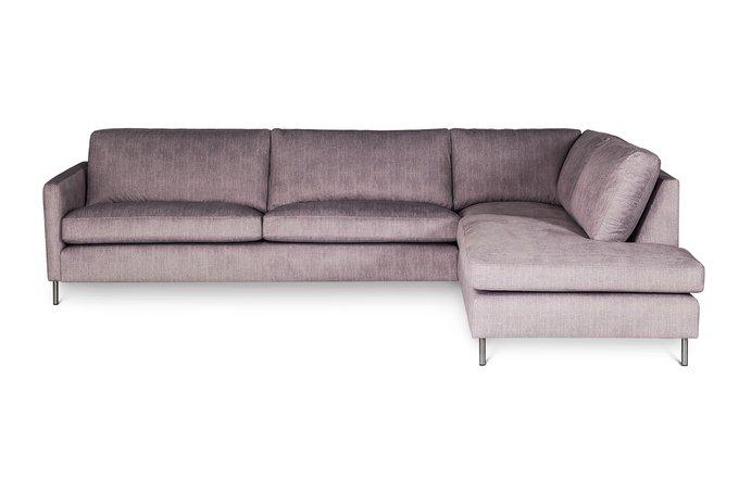 Угловой диван Matera серого цвета