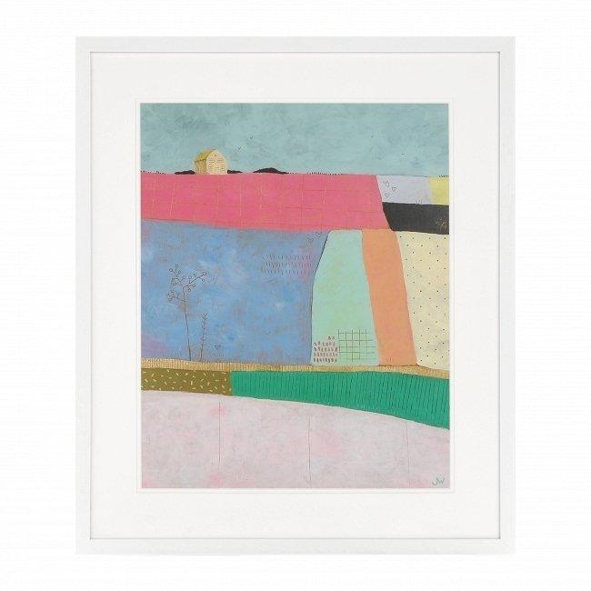 Постер Patchwork Fields с абстрактным рисунком