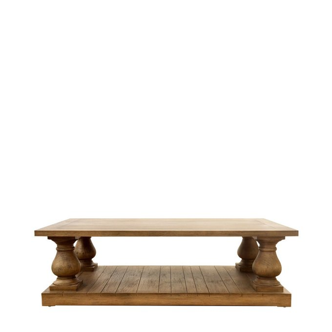 """Кофейный столик """"Iver"""" из массива дерева махагон"""