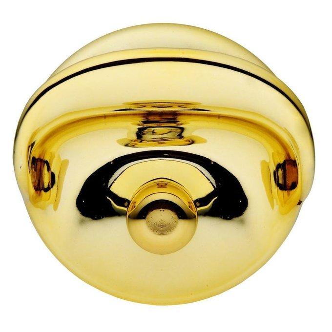 Крюк для одежды Graceful золотого цвета