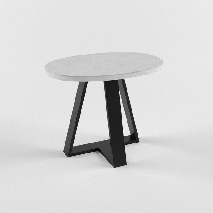 Журнальный столик с мраморной столешницей ZEUS