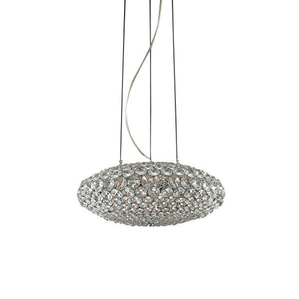 Подвесной светильник Illuminati Aura из множества хрустальных элементов