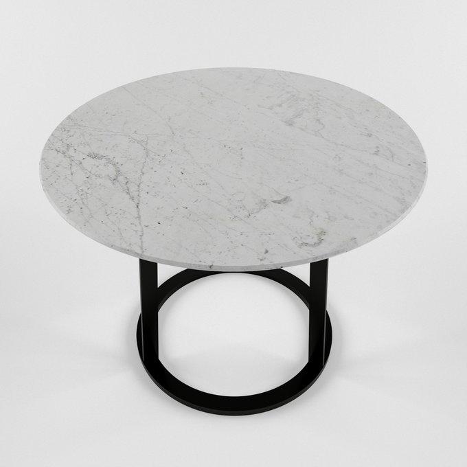 Журнальный столик с мраморной столешницей DRUM large