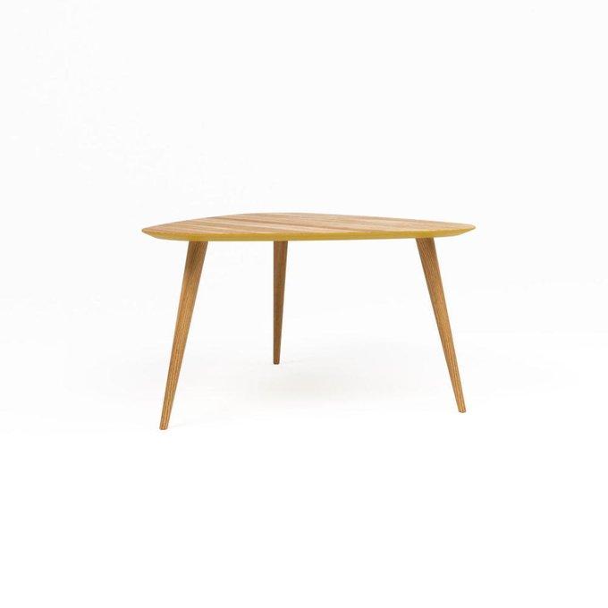 Обеденный стол Shell натуральный дуб с окантовкой