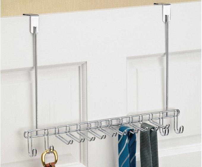 Вешалка для ремней и галстуков из стали